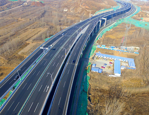 Ground road of Jinan connecting line south section of Jinan Guangzhou Expressway (South extension of 2nd Ring West Road)