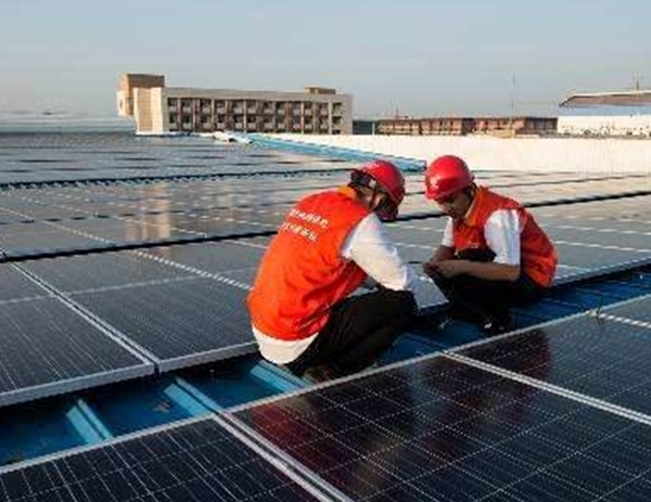 Binzhou Yuantai textile plant photovoltaic power station project