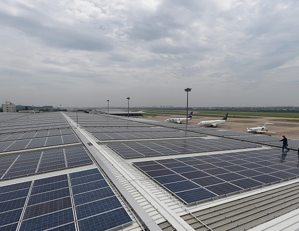 Xiaoshan International Airport photovoltaic project