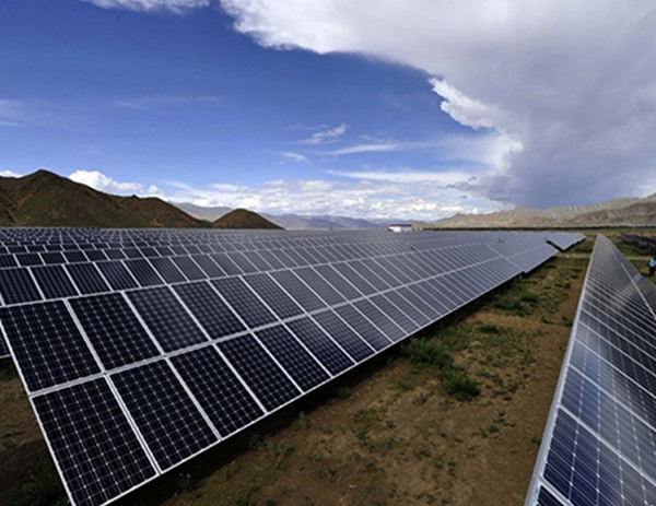 Zhangbei caojiaying 20MW photovoltaic power generation project